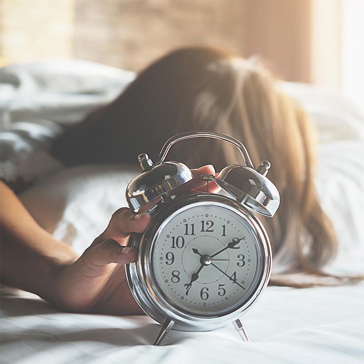 正しい睡眠習慣を身に付ける!
